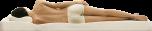 Tempur bäddmadrass 7cm 80x200, icegrey